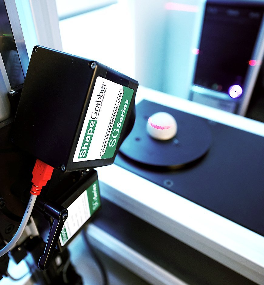 oic laser scanning shapegrabber