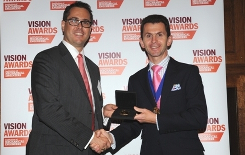 2013 Thomas Hawksley gold Medal
